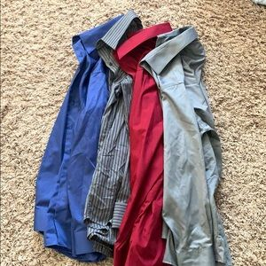 Men's button up collared shirts